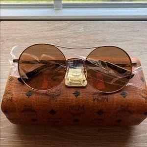 Mcm bronze round sunglasses